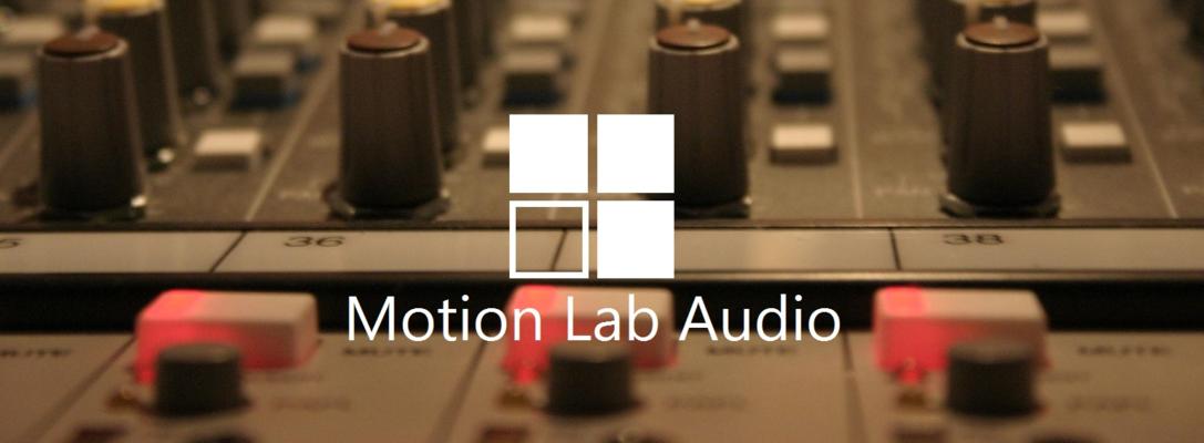 Motion Lab Audio on SoundBetter