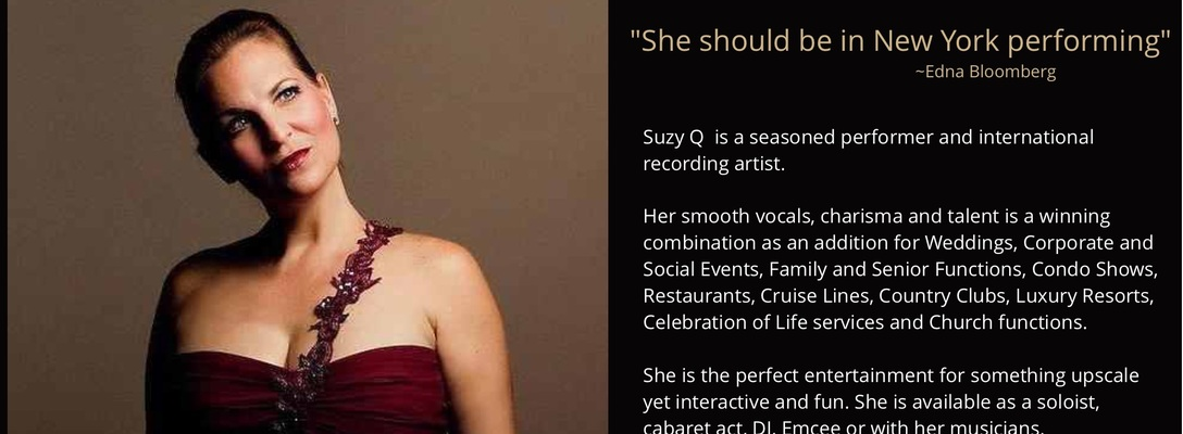 Suzy Q available for your song on SoundBetter