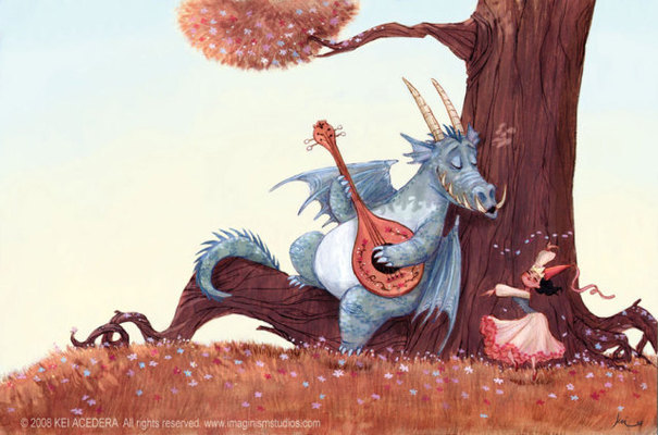Listing_background_dragon_playing_to_girl