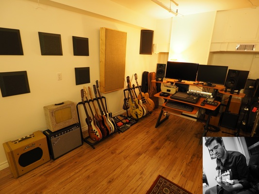 Joel -guitars, slide, mandolin on SoundBetter