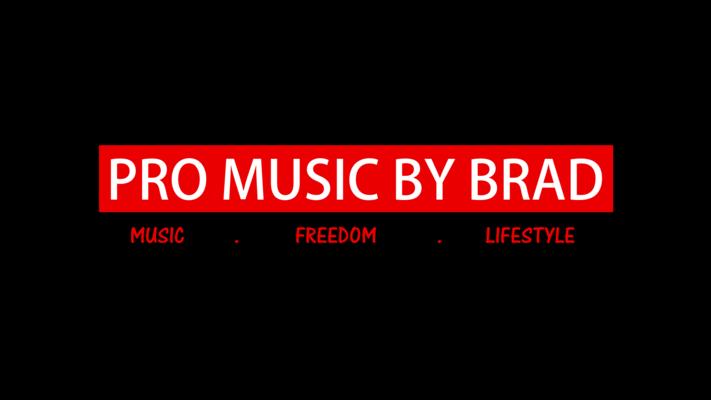Listing_background_pro_music_by_brad_logo_red___white___black_w._background