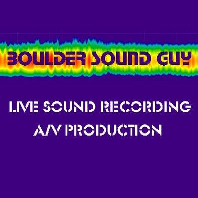 Boulder Sound Guy on SoundBetter
