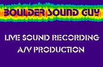 Photo of Boulder Sound Guy