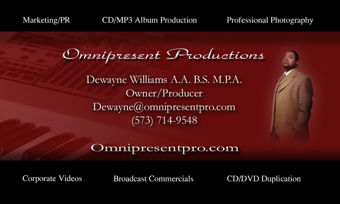 Dewayne Williams on SoundBetter