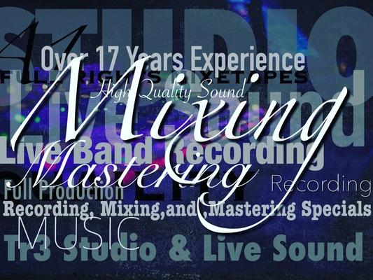 Tr3 Studio & Live Sound on SoundBetter